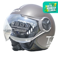 Cargloss YR HC Protect Helm Half Face - Espresso Brown