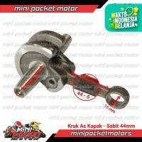 Kruk As / Conrod / Bandul Sabit 44mm Motor Mini GP / Trail Mesin Tarik