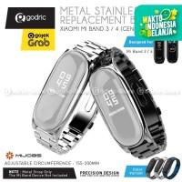 MIJOBS METAL PLUS Stainless Steel Wrist Strap Xiaomi Mi Band 4 & 3 ORI