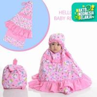 Mukena Anak Baby Hello Kitty Renda (Tas Ransel )