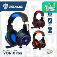 Headset Gaming Rexus Vonix F55 - Headphone LED F 55