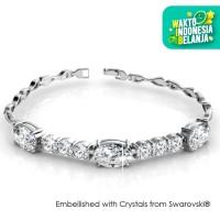 Her Jewellery Elegant Bracelet - Gelang Crystals from Swarovski®