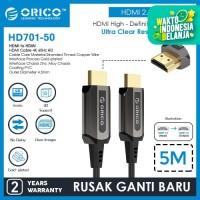 ORICO HDMI Cable 4K 60Hz HD Zinc Alloy 5 Meter - HD701-50