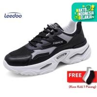 Leedoo Sepatu Sneakers Olahraga Breathable mesh Sepatu Kasual MD103