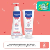 Mustela Very Sensitive Cleansing Gel Bundle
