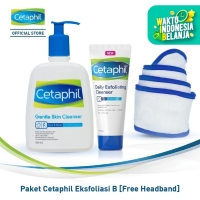 Paket Cetaphil Eksfoliasi B [Free Headband]