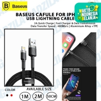 Kabel Data iPhone BASEUS CAFULE Apple USB Lightning Cable 2Meter
