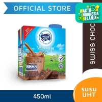 Frisian Flag Purefarm Susu UHT Swiss Chocolate 450ml