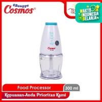 Cosmos FP300 Food Processor Blender Mini - BIRU (100% ORI)