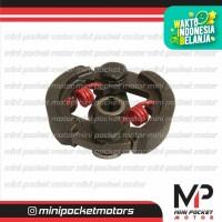 Kampas Kopling / Ganda Racing Per Merah 2 Motor Mini GP / Mini Trail