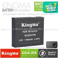 KingMa Baterai for Xiaomi Mijia Action Camera 4K (Replacement Battery)