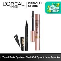 L'Oreal Paris Eyeliner Flash Cat Eyes + Lash Paradise