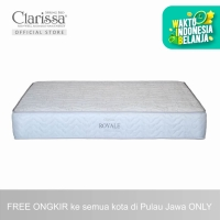 Clarissa Kasur Spring Bed Royale (Extra Comfort) - 100x200x26