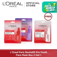 L'Oreal Paris Revitalift Pro-Youth Face Mask Buy 2 Get 1