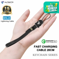 Ultimate Power Kabel Data Iphone Cable Keychain Series Lightning 20CM