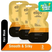 Ellips Hair Mask Keratin Smooth & Silky 18 gr Multipack 3