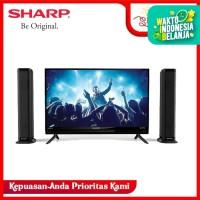 SHARP 2T-C32BB1i-TB LED TV - Hitam [32 Inch]