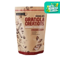 Granola Creation Cinnamon Raisin Original Mix - Sarapan Sehat 400 Gr