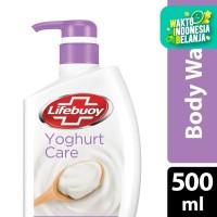 Lifebuoy Sabun Mandi Cair Yoghurt Care Pump 500Ml
