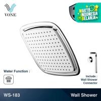 VONE WS-183 Wall Shower Set Kotak Tembok Mandi Head Kepala Tanam Paket