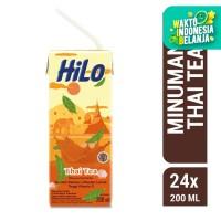 Buy 12 Get 12 FREE HiLo Thai Tea 200ml - Ready to Drink