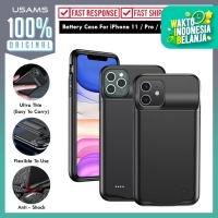 Battery Case iPhone 11 Pro / Max / 11 USAMS Power Case with Powerbank