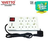 VETTO Stop Kontak V8206 R7 3M Universal SNI