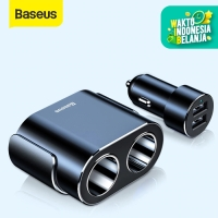CAR CHARGER BASEUS CHARGER MOBIL USB DUAL PORT