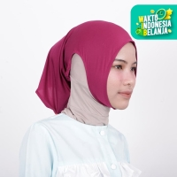 Zoya Inner Kerudung Ciput Hijab - Ciput Telinga Naya Magenta