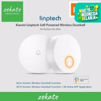 Xiaomi Linptech Wireless Doorbell No Battery - door bell WiFi Version