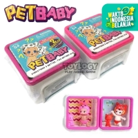 Mainan Anak Perempuan Boneka Surprise Pet Baby Doll Koleksi Kotak