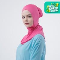 Zoya Inner Kerudung Ciput Hijab - Ciput Rising Star Carmine Rose