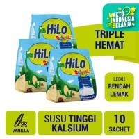 Triple Pack: HiLo School Vanillla Gusset 10 Sch - Susu Tinggi Kalsium