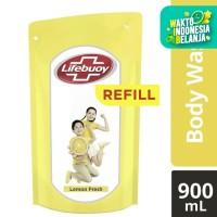 Lifebuoy Body Wash Sabun Mandi Cair Refill Lemon Fresh 900Ml