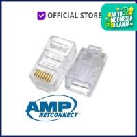 AMP RJ45 ORIGINAL : Connector for BELDEN Cat5E Network Cables