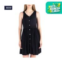 Dress Tanpa Lengan / Dritto Black Dress 71002P6BK -10PM