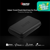 Sniper Travel Pouch Hard Case for Powerbank