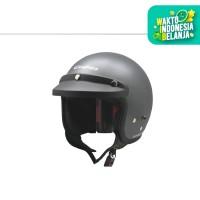Cargloss Retro Army Helm Half Face - Anchor Grey SG (Doff)