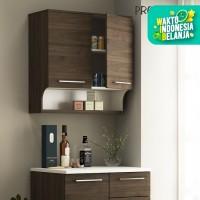 Pro Design Oklava Kabinet Dinding Dapur Dengan 2 Pintu Dan Penyimpanan