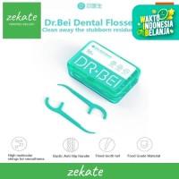 Xiaomi Doctor Bei Dental Floss 50pcs Benang Tusuk Gigi 2 in 1