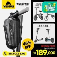 Tas Sepeda Lipat Tas Scooter Wildman Tas Sepeda Balok Waterproof GS8