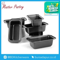 """Loyang Kue Anti Lengket / Master Pastry Loaf Pan Small 7,5x3,5"""" - 6pc"""