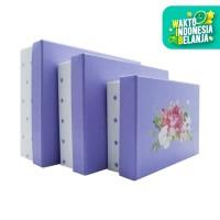Chayo Craft Gift Box Floral PA4 Set - Purple