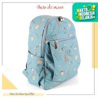 MOIS DE MARS - KYA | Tas Ransel Backpack - Turquoise