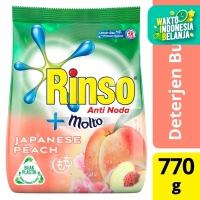 Rinso Molto Detergen Bubuk Japanese Peach 770G