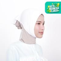 Zoya Inner Kerudung Ciput Hijab - Ciput Face Lift White