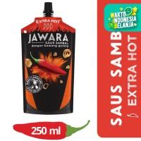 Jawara Saus Extra Hot Pouch 250Ml