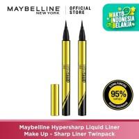 Maybelline Hypersharp Liquid Liner Make Up – Sharp Liner Twinpack