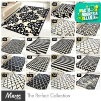 [Carpet Shop ID] Karpet Skyrugs 100x150 (monochrome design) - KODE 02