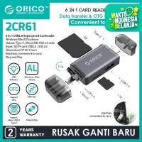 ORICO 6in1 OTG Card Reader USB2.0 - 2CR61